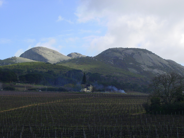 Paarl Mountain, the second largest granite outcrop in the world.